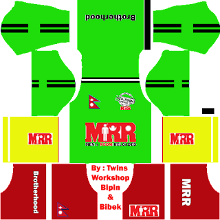 Nepal and MRR Kits, Jersey In Dream League Soccer