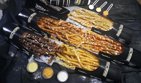 Bazinga Fries: the longest fries in town!