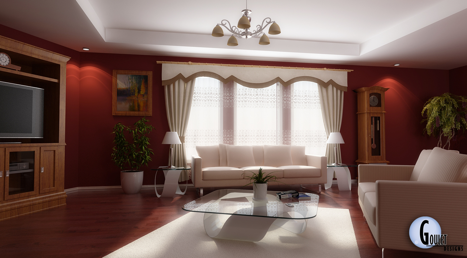 Living Room Decoration Dream House Experience