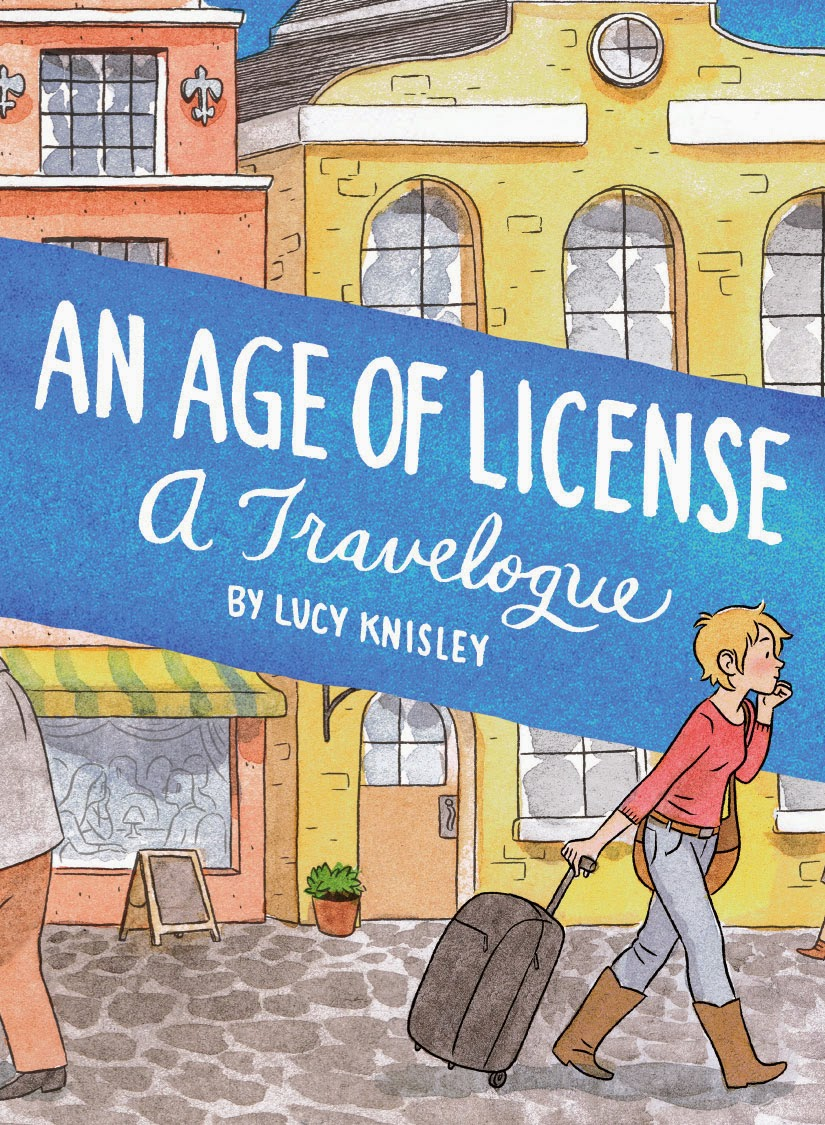 age of license lucy knisley cover