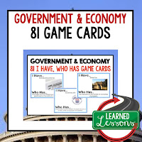 Government and Economy, Free Enterprise, Economics, Free Enterprise Lesson, Economics Lesson, Free Enterprise Games, Economics Games, Free Enterprise Test Prep, Economics Test Prep