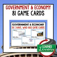 Government and Economy, Free Enterprise, Economics, Free Enterprise Lesson, Economics Lesson, Free Enterprise Games, Economics Games, Free Enterprise Test Prep, Economics Test Prep