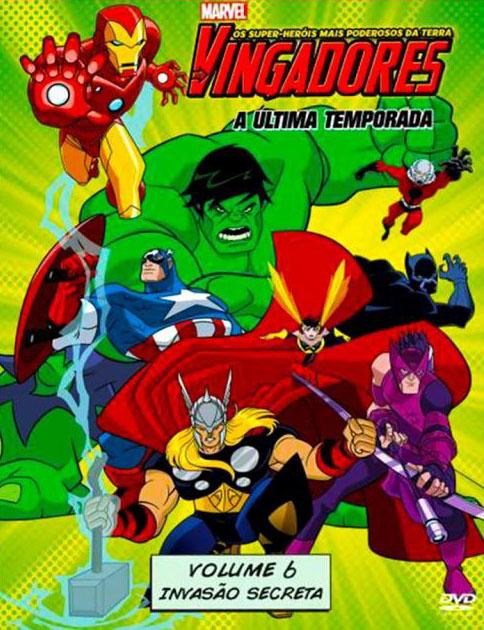 Os Vingadores: Os Super-Heróis mais Poderosos da Terra 2ª Temporada Torrent - Blu-ray Rip 1080p Dublado (2011)