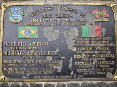 Targa Brasile - Italia