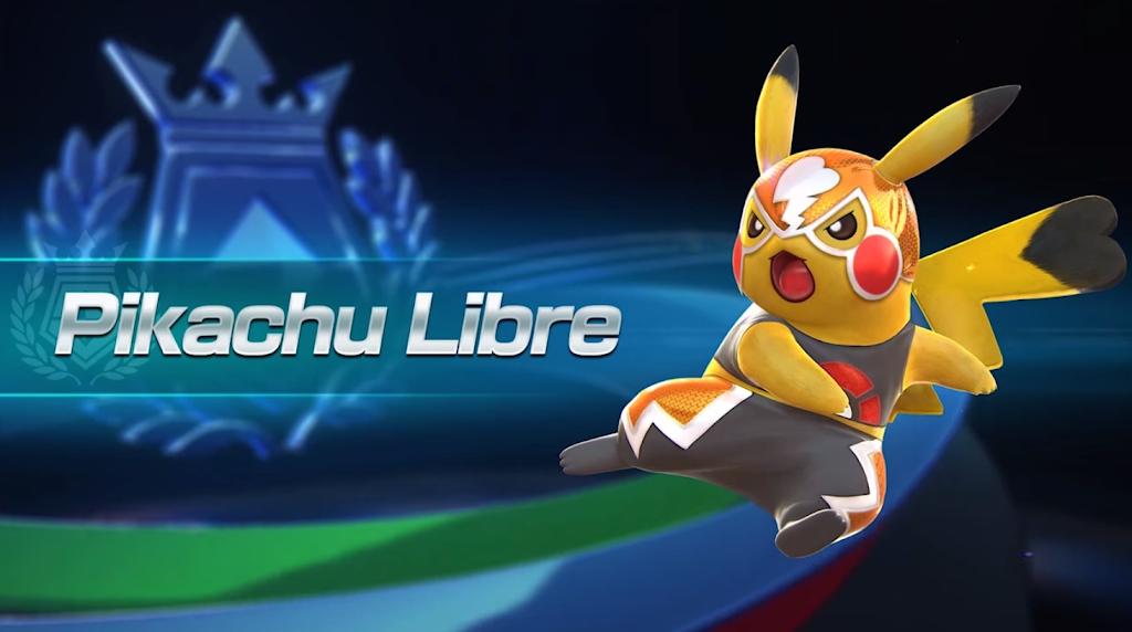 Pikachu Libre - Pokken Tournament chega ao Wii U em 2016