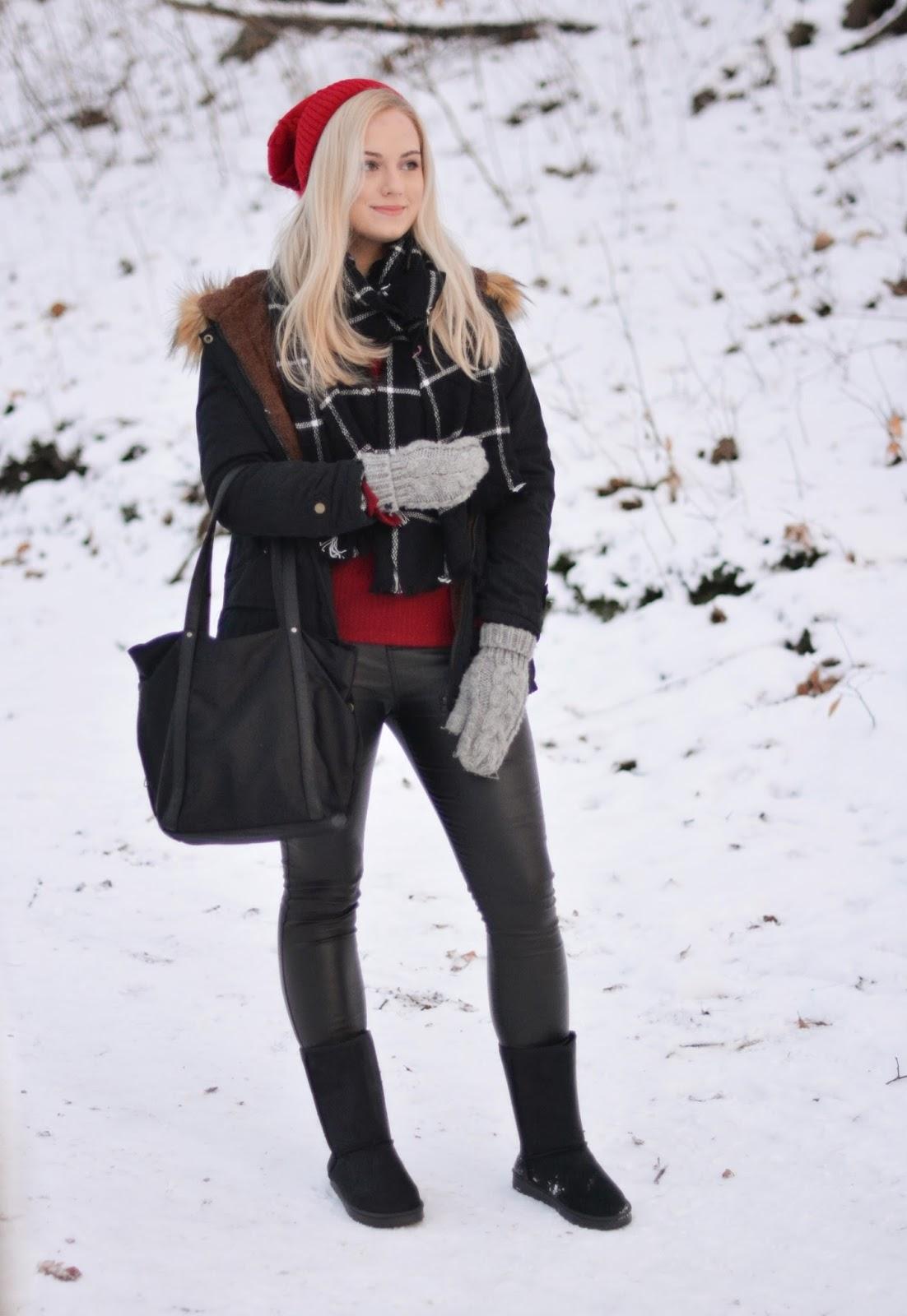 ciepłu ubiór zima