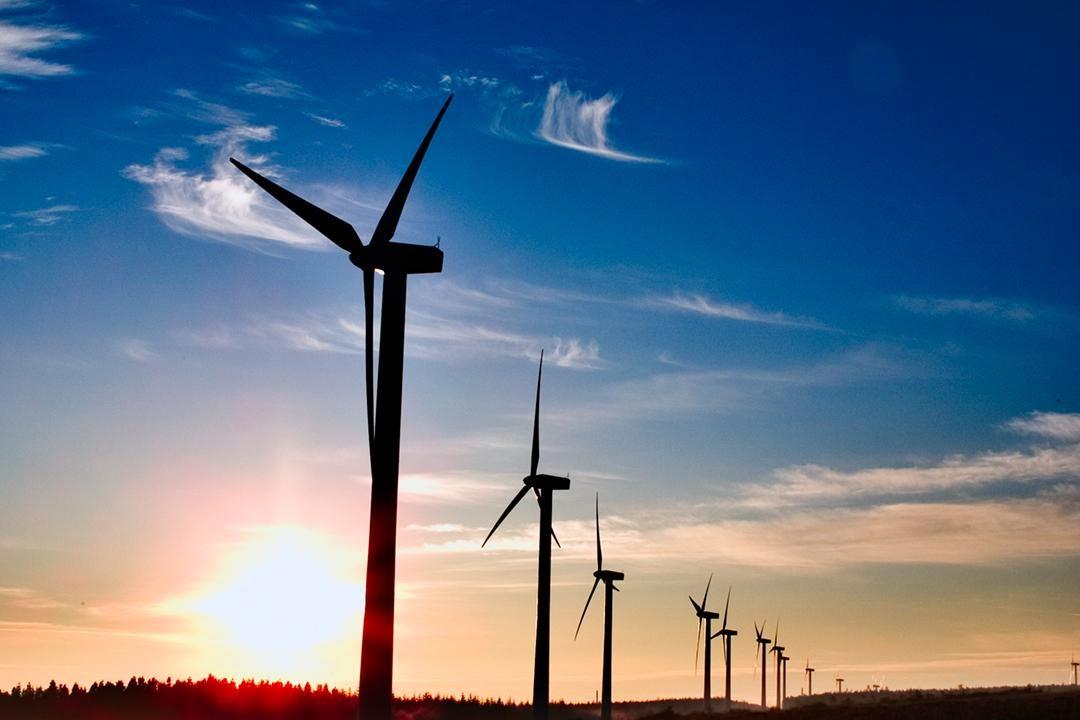 Energia Eólica con aerogeneradores