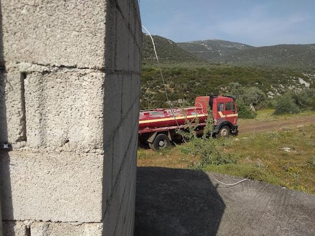 Προβλήματα υδροδότησης στη Τραχειά του Δήμου Επιδαύρου