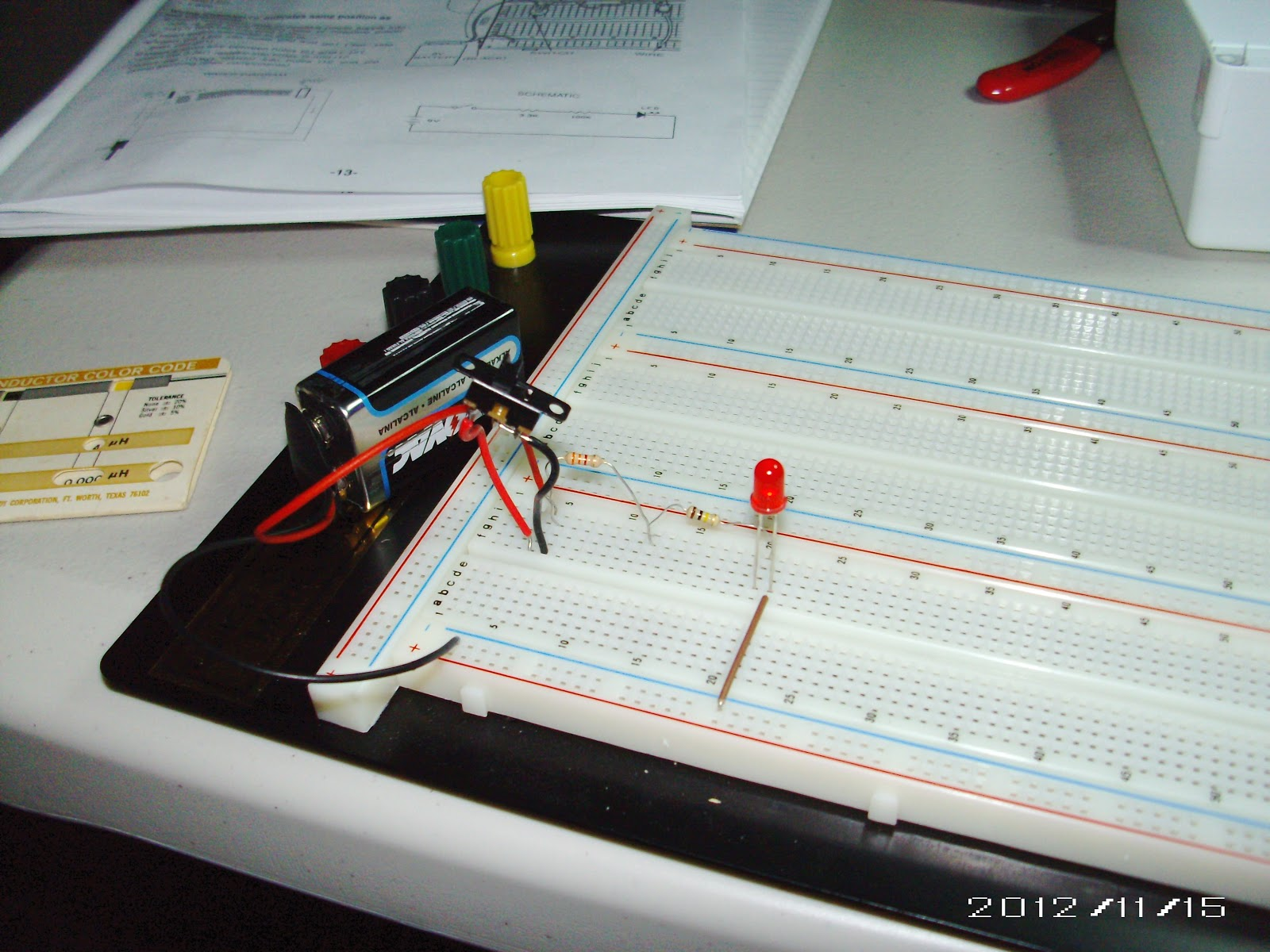 Electric Light Elencos Pk 201 Experiment 3 Resistors In Series Resistances Electrical Circuits A Add Together To Increase The Total Resistance Of Circuit Addition Larger Resistor That Will Control Flow