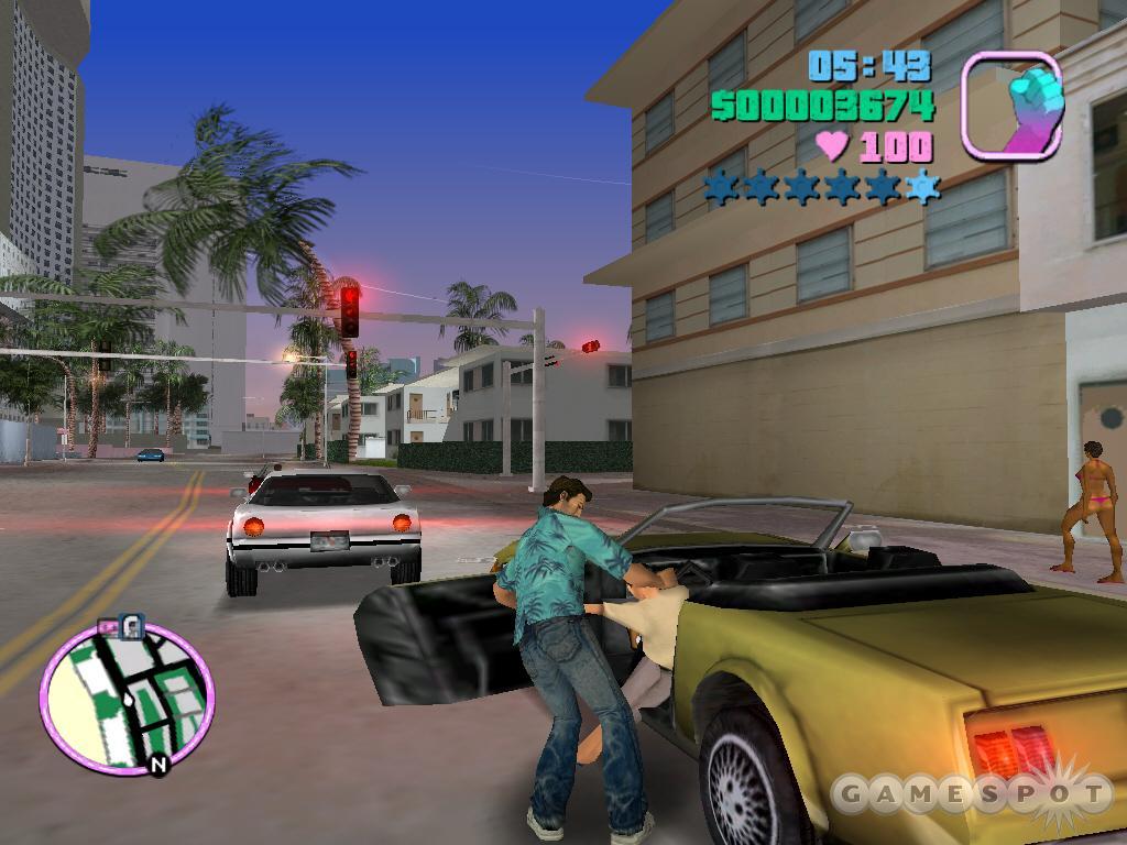 Digital K: GTA Grand Theft Auto: Vice City (PS2