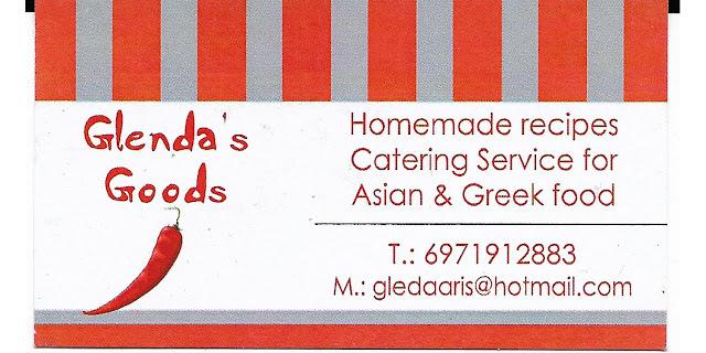 Glenda's Goods Σπιτικές συνταγές - catering