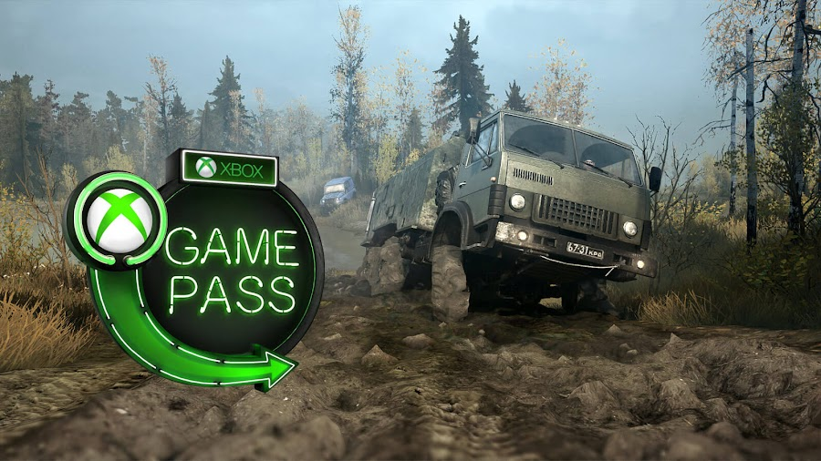 xbox game pass game awards 2018 spintires mudrunner