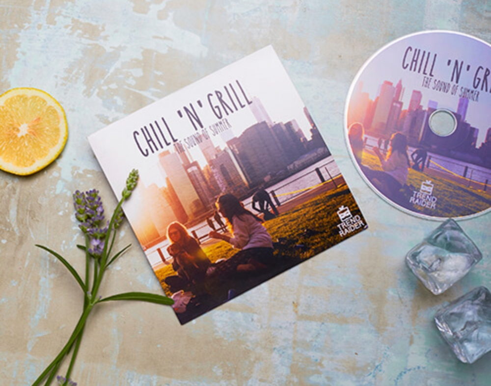"Grill 'n' Chill mit der TrendRaider Box Sommer CD-SAMPLER ""Grill 'n' Chill"""