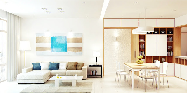 Modern theme home decorating