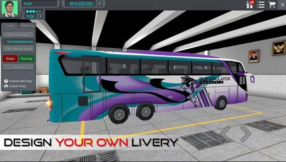 Free Download Bus Simulator Indonesia (BUSSID) V2.7 Mod Apk Terbaru 2018