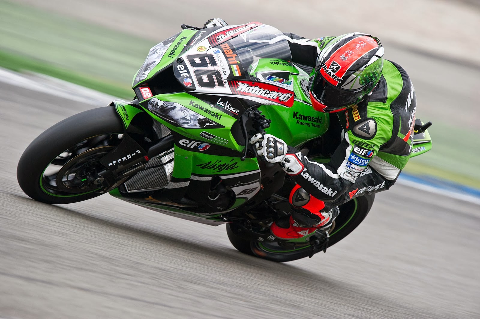 Motor Road Race Kawasaki 2014