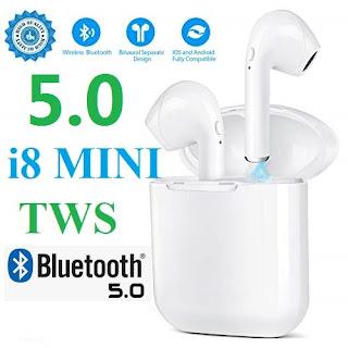i8mini tws bluetooth 5.0 auricolare bluetooth