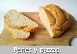 Recetas de panes y pizzas