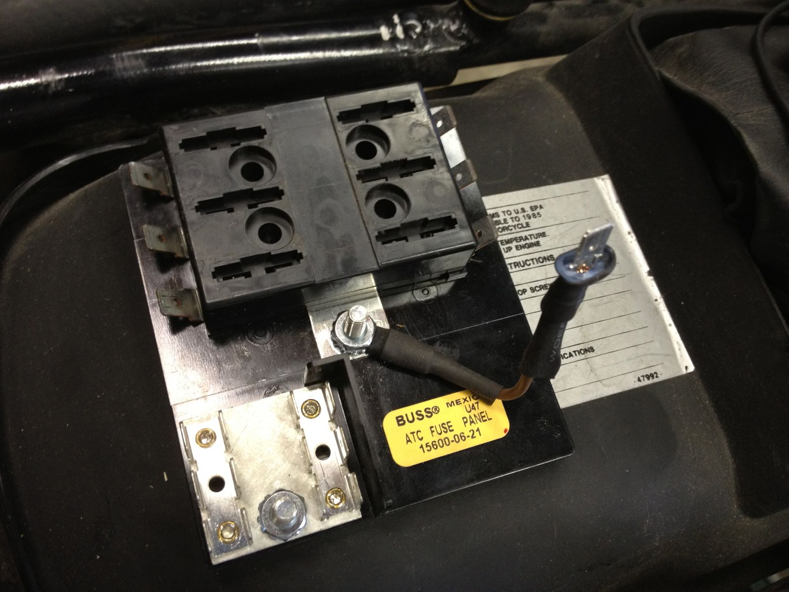 alazzurra: replacement fuse panel fuse box repment
