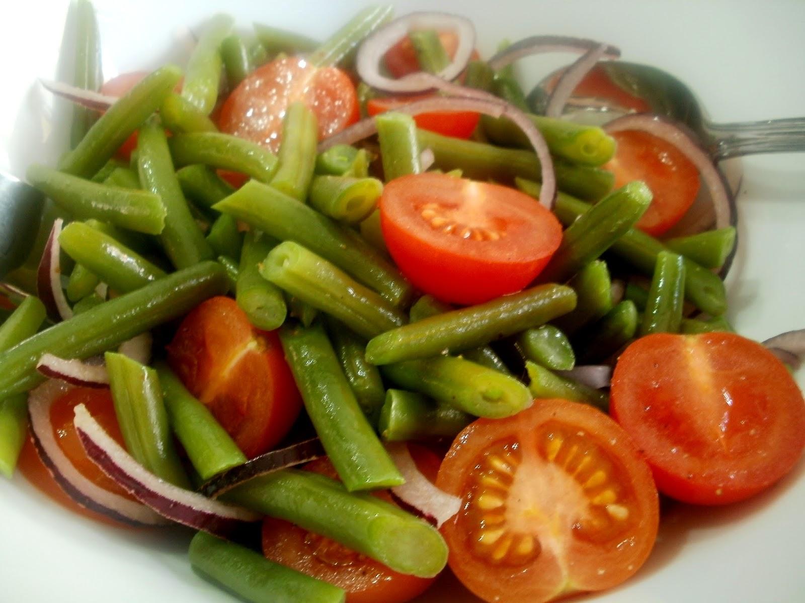 Ensaladas de habichuelas verdes