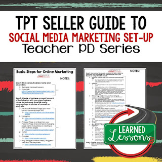 Social Media Marketing, Small Business Marketing, TpT Seller Tools