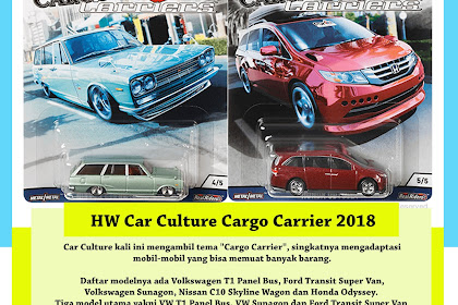Hot Wheels Car Culture 2018 Mix 2 : Cargo Carrier