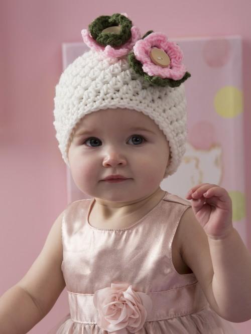 Darling Baby Hat - Free Pattern