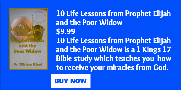 10 Life Lessons from Prophet Elijah and the Poor Widow