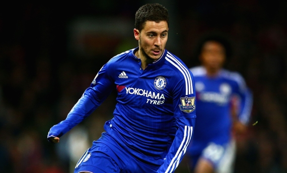 Antonio Conte hopes to make Eden Hazard as good as Lionel Messi & Cristiano Ronaldo.