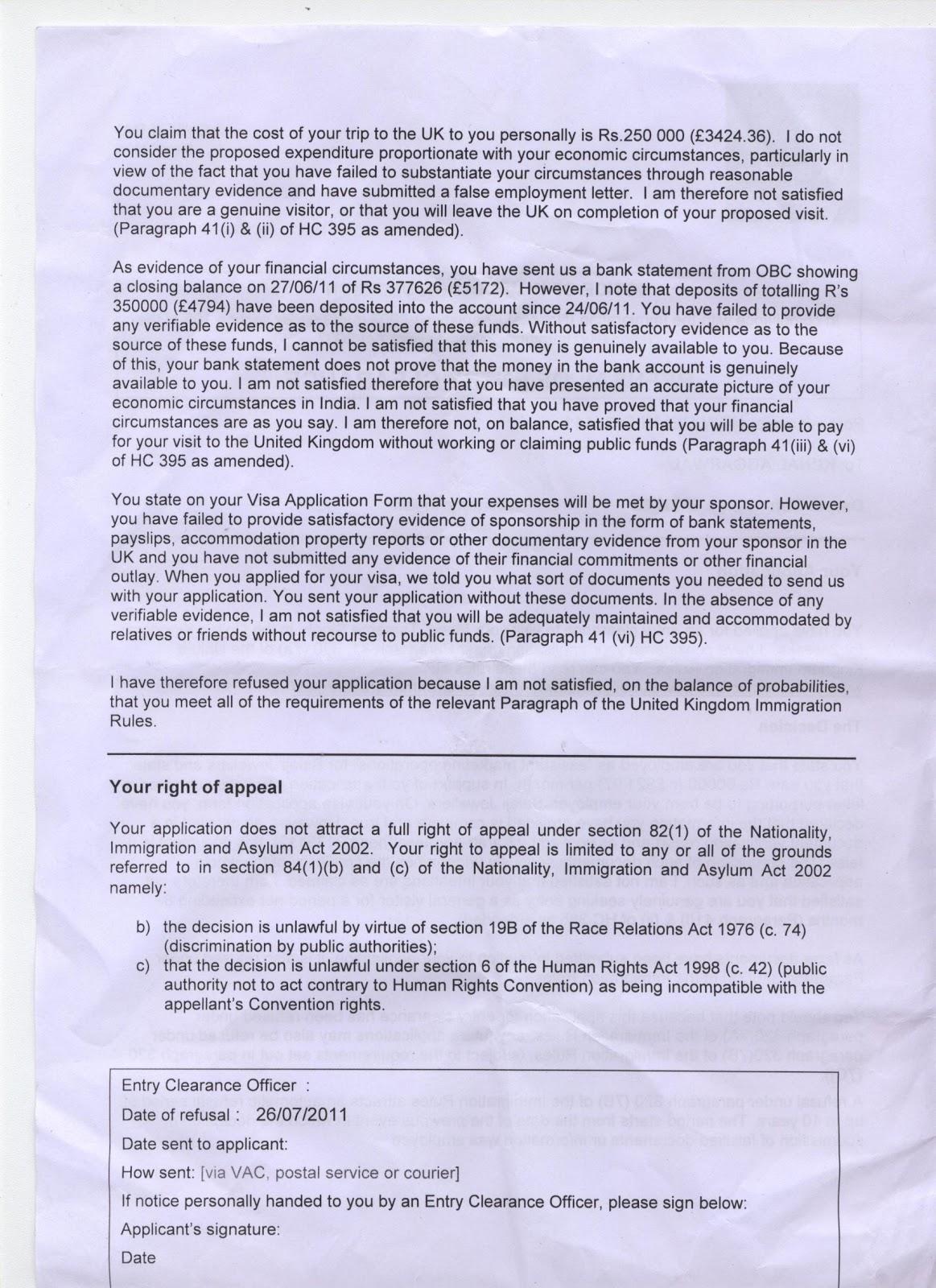 status of uk visa application