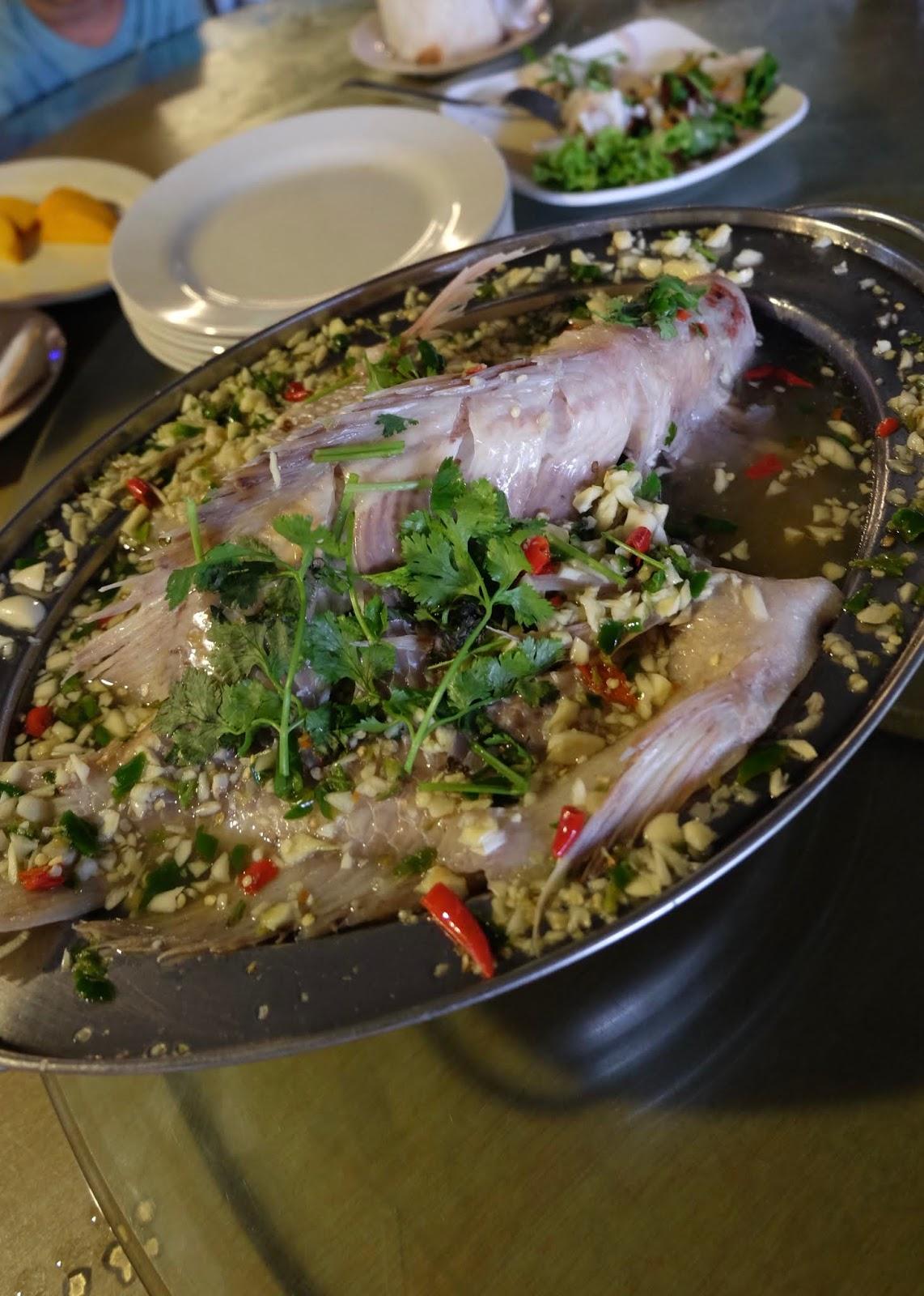 Veg Fish Farm Thai Restaurant Hulu Langat Curitan Aqalili
