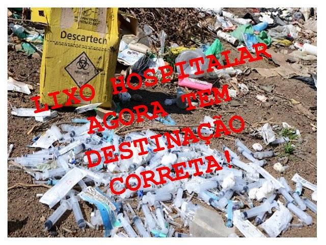 Pela primeira vez Milagres contrata Empresa Especializada para coleta de lixo hospitalar