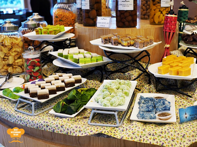 traditional Malay Kuih Muih   Kuala Lumpur Ramadhan Buffet 2018 WP Hotel