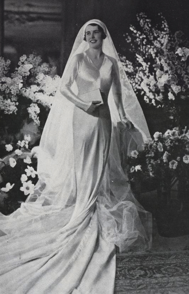 42 Glamorous Wedding Dresses From Between the 1920s and 1930s ...