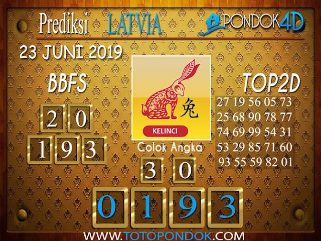 Prediksi Togel LATVIA PONDOK4D 23 JUNI 2019