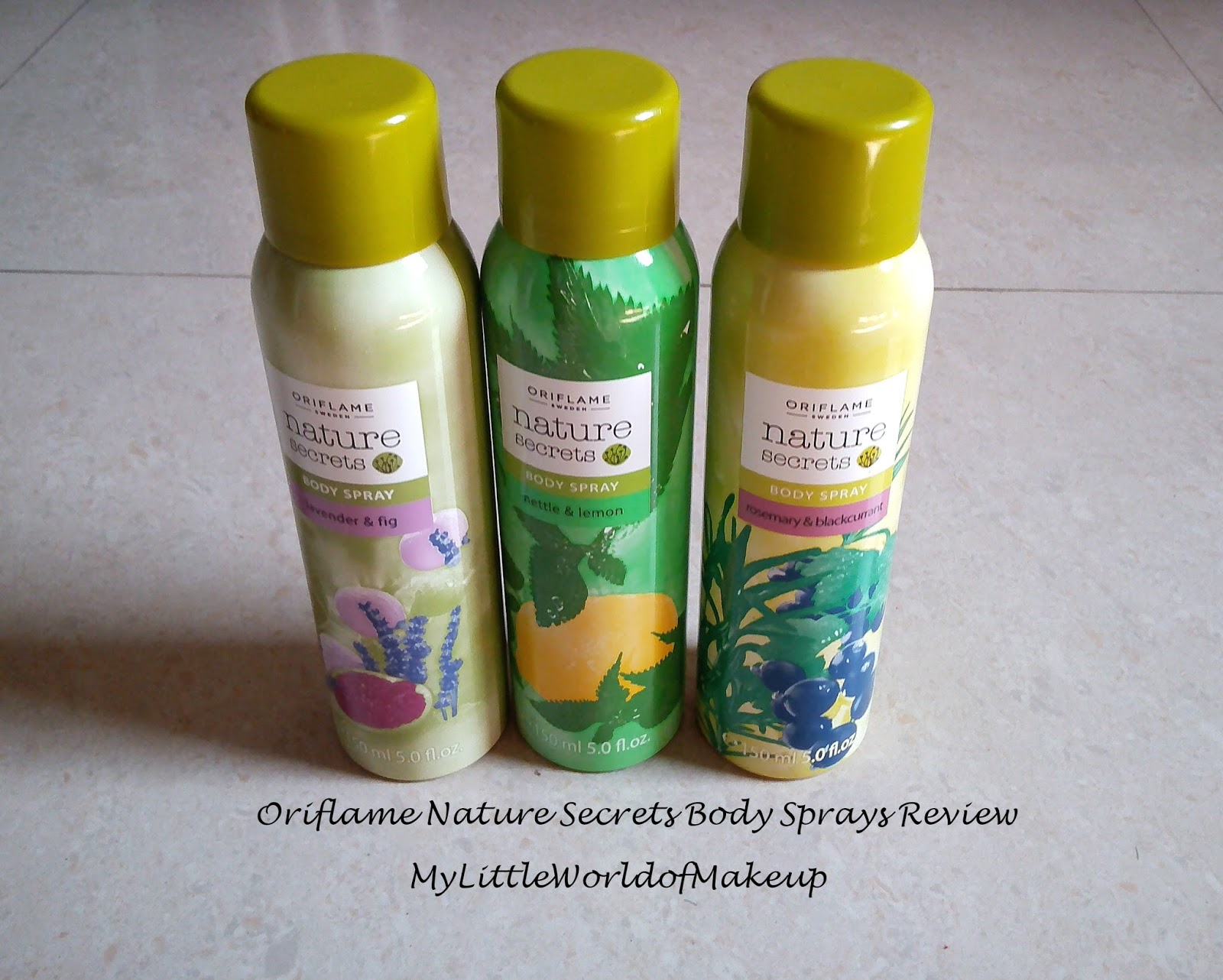 Oriflame Nature Secrets Body Spray