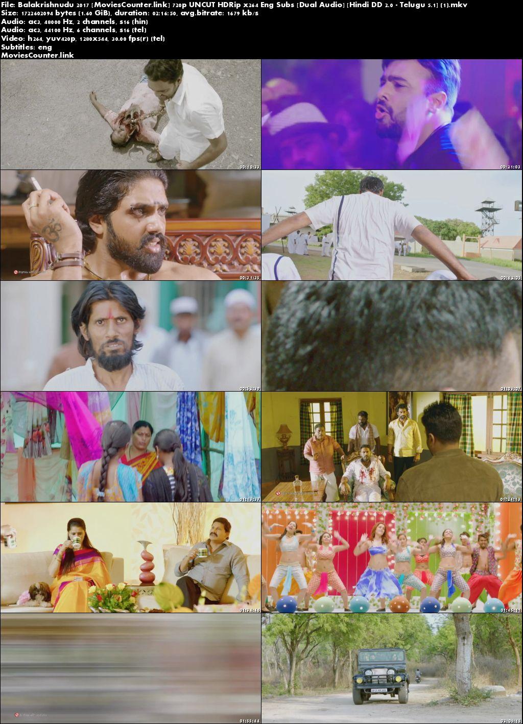 Screen Shots Balakrishnudu 2017 Hindi Dubbed HD 720p