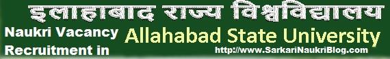 Naukri-Vacancy-Recruitment-Allahabad-State-University