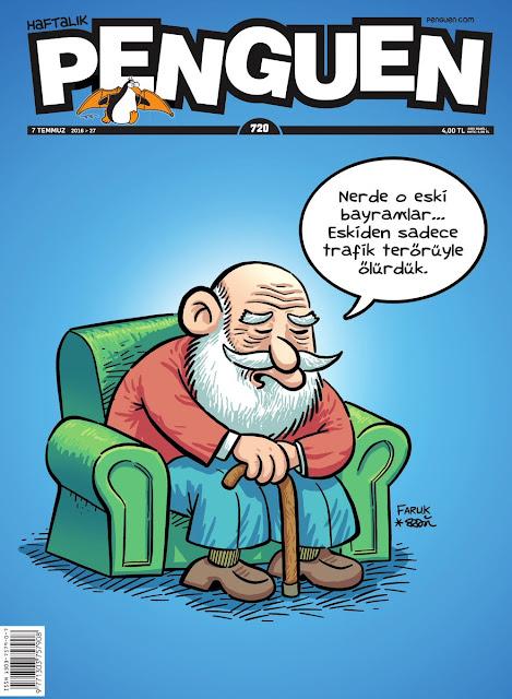 Penguen Dergisi - 7 Temmuz 2016 Kapak Karikatürü