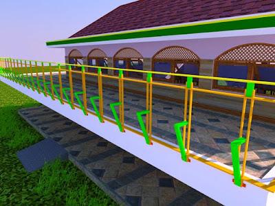 Desain Masjid Raya Abu Bakar Ash-Shiddiq GCA