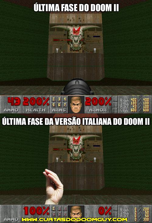 Versão italiana do Doom II