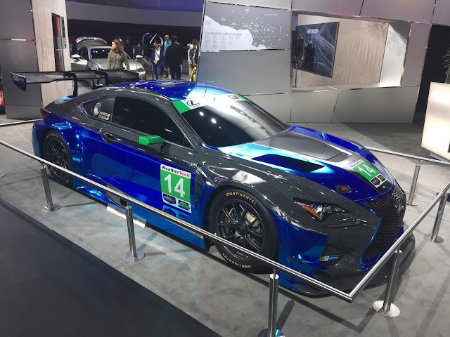 3GT RACING Scott Pruett Lexus RCF GT3 LA Auto Show