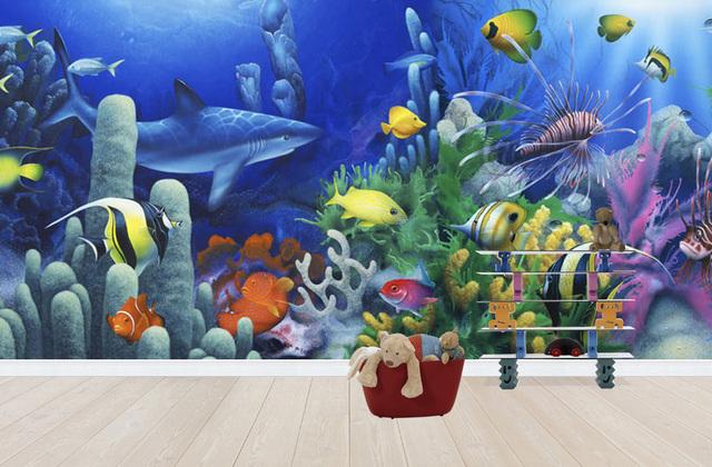 Pojan Huoneen Tapetti Akvaario Tapetti Kala