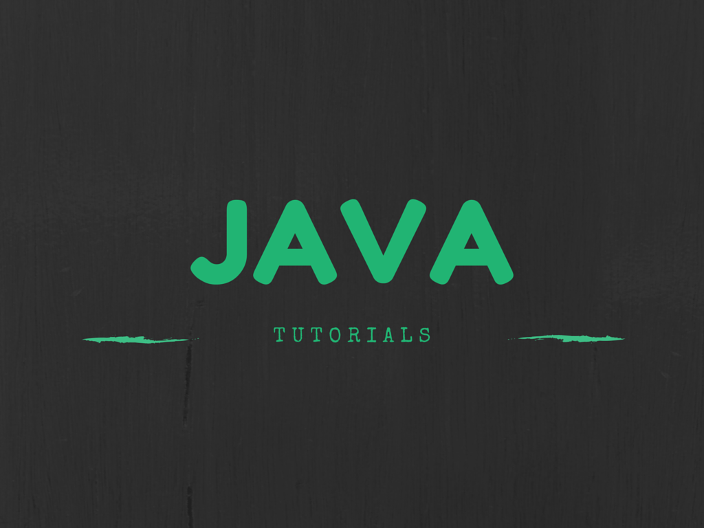 Best Java Tutorials