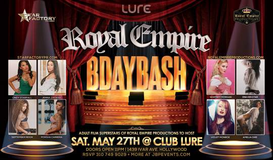 Royal Empire Birthday 2017 Club Lure