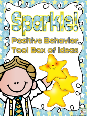 SPARKLE, Positive Behavior Tool box,  Crockett's Classroom