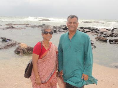 Abhinandan Varthaman parents
