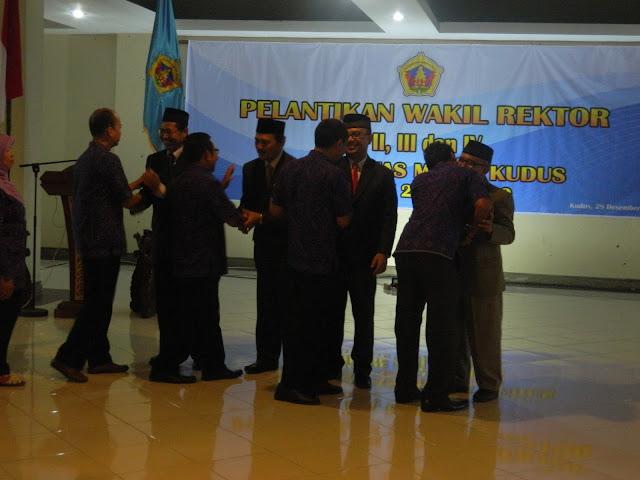 Regenerasi Wakil Rektor UMK