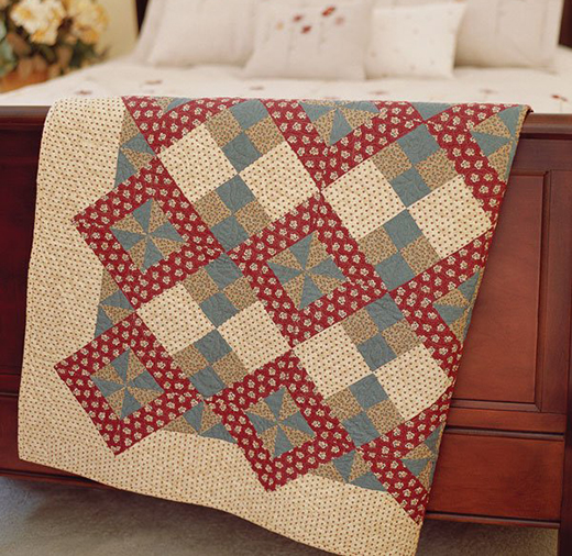 Four-Patch Surprise Quilt Free Pattern