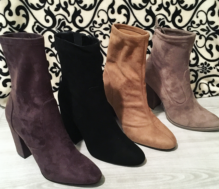 Suede Boots for Fall